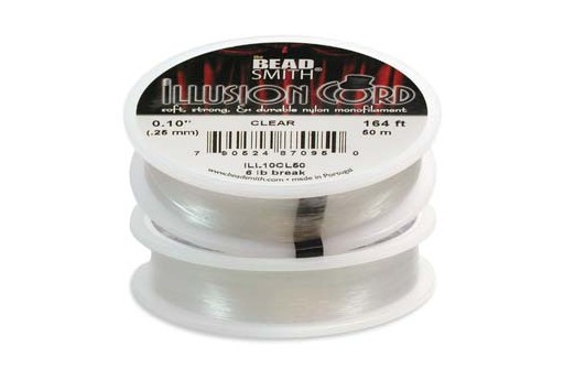 Illusion Cord - Clear 0,25mm - 50m