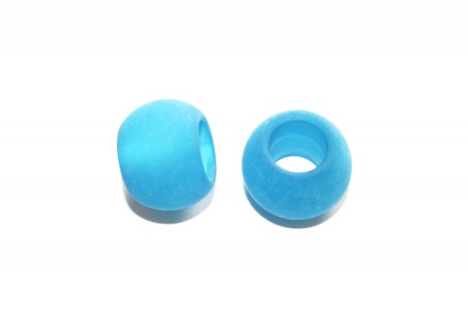Climbing Light Blue Polaris Bead 20x10mm - 1pcs