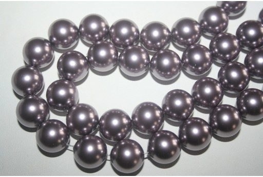 Perle Swarovski 5811 Crystal Mauve 14mm - 2pz