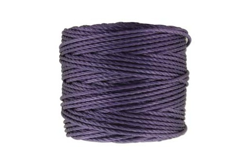Super-Lon Bead Cord Tex 400 - Med Purple 0,90mm - 32mt
