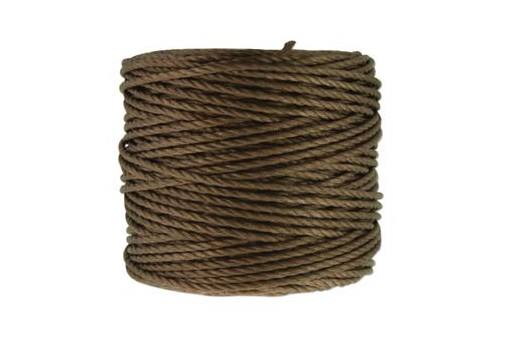 Super-Lon Bead Cord Tex 400 - Sepia 0,90mm - 32mt