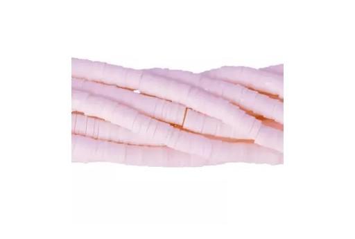 Perline Katsuki - Bianco Rosato 6mm - 200pz