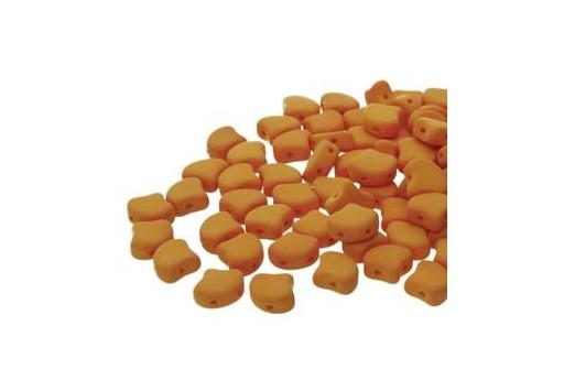 Perline Ginko Confezione Ingrosso - Matte Velvet Mustard 7,5mm - 100gr