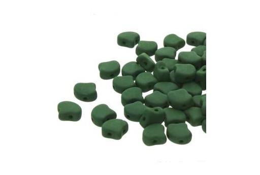 Perline Ginko Confezione Ingrosso - Matte Velvet Forest Green 7,5mm - 100gr