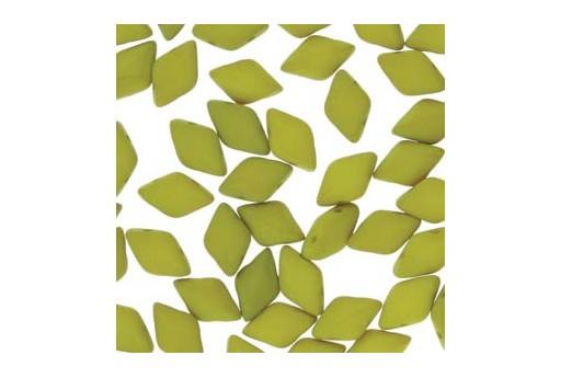 Perline GemDuo - Matte Velvet Lemongrass 8x5mm - 10gr