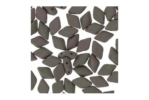 GemDuo Beads - Matte Velvet Mushroom 8x5mm - Pack 100gr