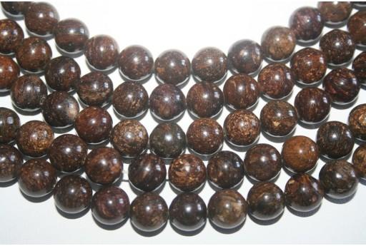 Bronzite Beads Sphere 10mm - 38pz