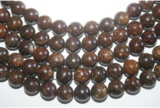 Bronzite Beads Sphere 10mm - 3pz