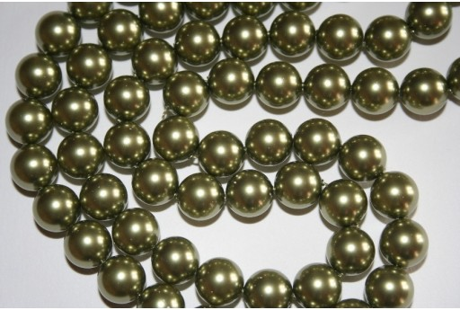 Swarovski Pearls Light Green 5810 10mm - 4pcs