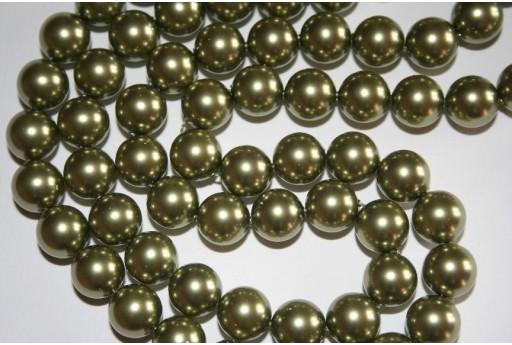 Swarovski Pearls Light Green 5810 10mm - 4pcs