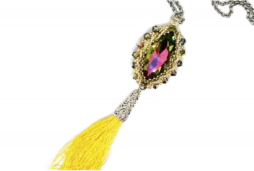 Kit Anello Pendente Haisha Multicolor