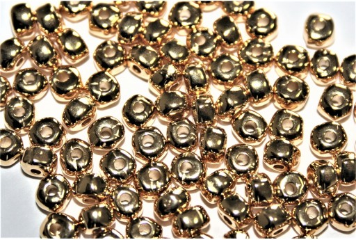 Perlina Irregolare in Zama - Oro 2,6x4,8mm - 10pz