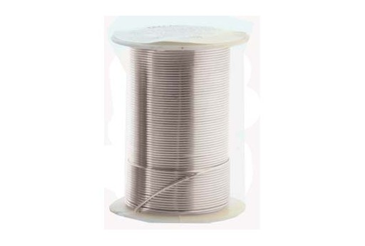 Lacquered Tarnish Resistant Wire Silver 16ga - 8yd