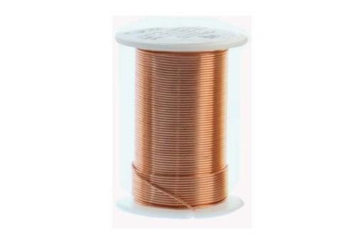 Lacquered Tarnish Resistant Wire Copper 16ga - 8yd
