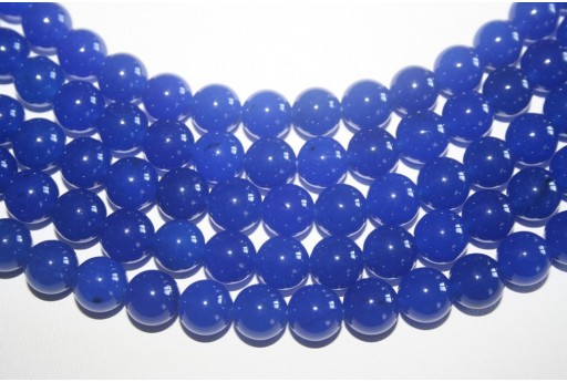 Jade Beads Lapis Blue Sphere 10mm - 5pz