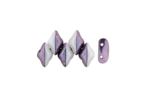 GemDuo Beads - Polynesian Mixed Berry Cream 8x5mm - 5gr