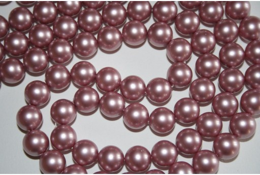 Swarovski Pearls Powder Rose 5810 10mm - 4pcs