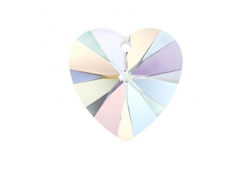 Swarovski Xilion Heart Pendant 18x17,5mm 6228