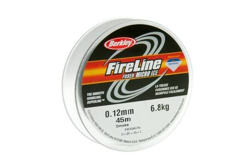 Filo Fireline Smoke Fumee 0,12mm - 45mt