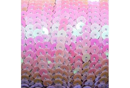 Violet AB Sequins Strand Smooth 6mm - 2mt
