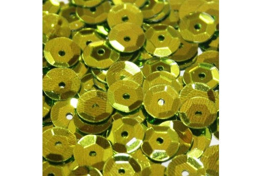 Cuvettes Sequins Light Green 6mm - 20gr