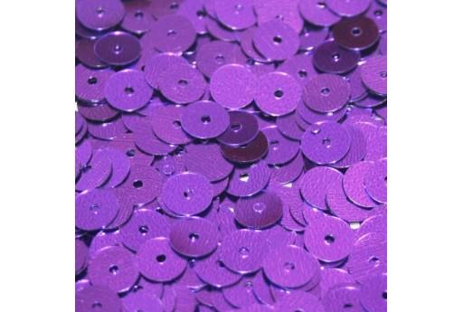 Paillettes Lisce Viola 6mm - 10gr