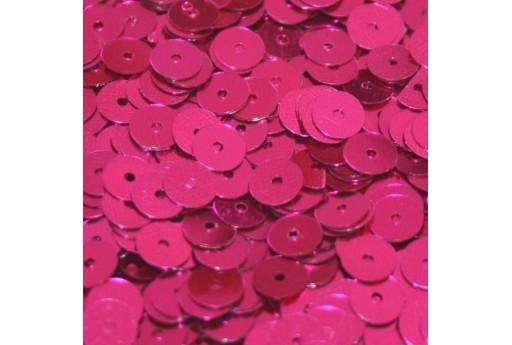 Paillettes Lisce Fuchsia 6mm - 10gr