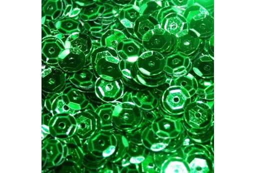 Paillettes Cuvettes Verde 6mm - 20gr