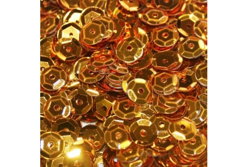 Cuvettes Sequins Gold 6mm - 20gr