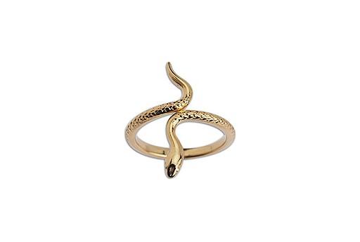 Ring Snake - Gold 17mm
