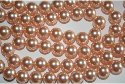 Swarovski Pearls Peach 5810 10mm - 4pcs