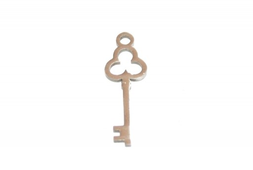 Stainless Steel Charms Key - 20x7mm - 2pcs