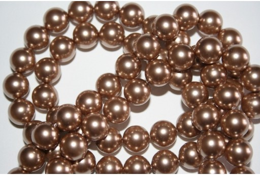 Swarovski Pearls Bronze 5810 10mm - 4pcs