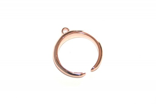 Bold Ring 17mm With Ring -  Rose Gold