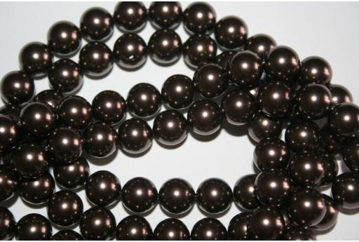 Swarovski Pearls Brown 5810 10mm - 4pcs