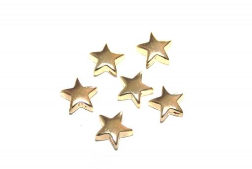Perline Hematite Stella - Light Gold 8mm - 20pz