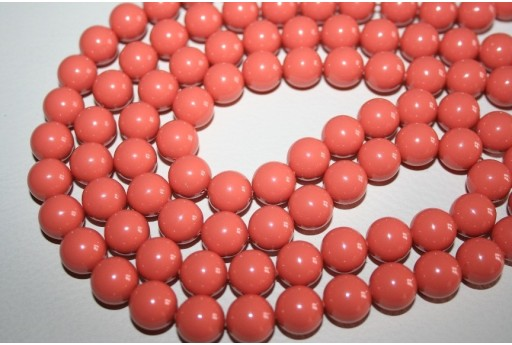 Swarovski Pearls Coral 5810 10mm - 4pcs