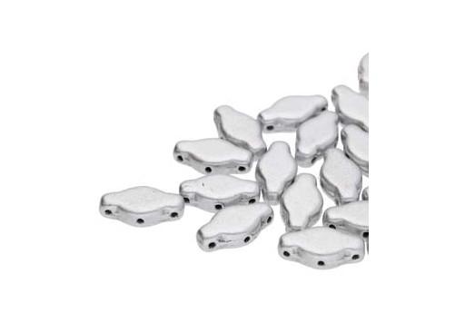 Perline Navette - Aluminum 6x12mm - 10gr