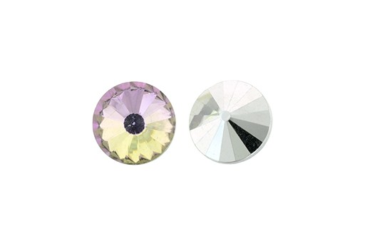 Matubo Rivoli Round Stone Crystal Vitrail Light 12mm - 2pcs