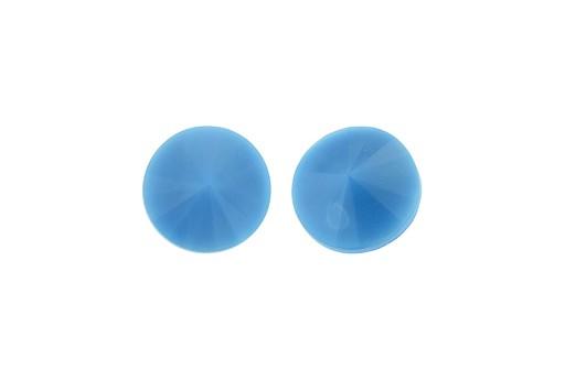 Cabochon Rivoli Matubo Turquoise Blue 12mm - 2pz