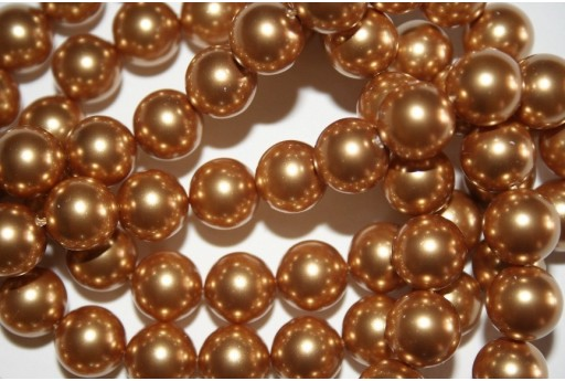 Swarovski Pearls Bright Gold 5810 10mm - 4pcs