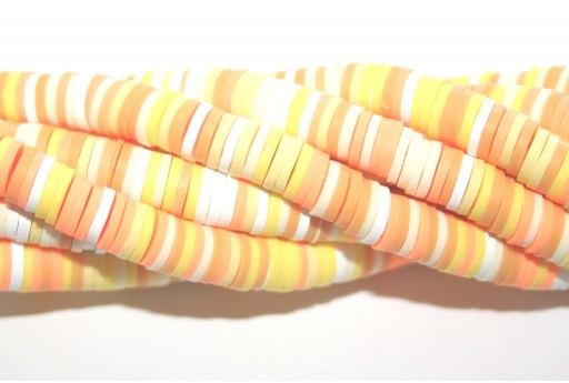 Heishi Beads Multicolor - Fantasy A 6mm - 200pcs