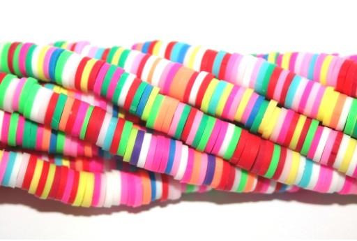 Perline Heishi Multicolor - Fantasia C 6mm - 200pz