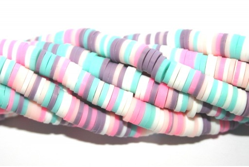 Heishi Beads Multicolor - Fantasy E 6mm - 200pcs