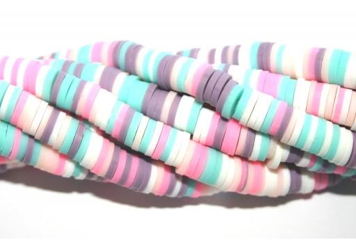 Perline Heishi Multicolor - Fantasia E 6mm - 200pz