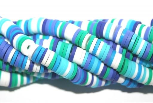 Perline Heishi Multicolor - Fantasia H 6mm - 200pz