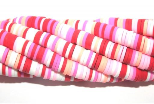 Heishi Beads Multicolor - Fantasy N 6mm - 200pcs