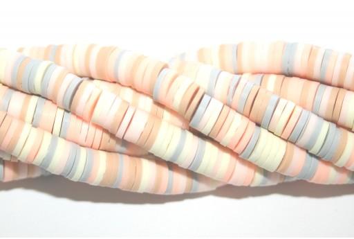 Perline Heishi Multicolor - Fantasia Q 6mm - 200pz