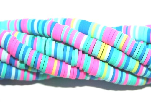 Perline Heishi Multicolor - Fantasia V 6mm - 200pz