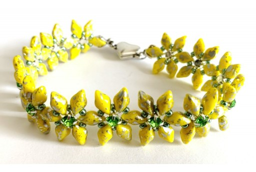 DIY Kit Anis Bracelet - Yellow